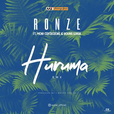 Download Audio by Ronze Ft. Moni Centrozone & Young Lunya – Huruma